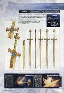 Dengeki Maou SAO 10th Anniversary Special - Fragrant Olive Sword Concept Art