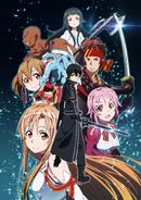 Sword Art Online Anime Aincrad Arc Key Visual