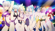 ALO fairy girls in revealing animal suits MT