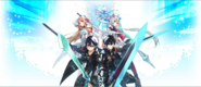 SAO x Phantasy Star Online 2 Collaboration Visual