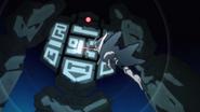 Asuna striking 21st floor boss