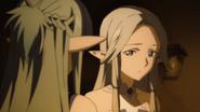 Asuna asking Siune about Yuuki