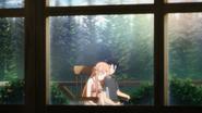 Kirito and Asuna in Kirito's dream