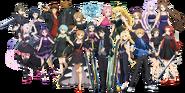 Sword Art Online -Ex-Chronicle- Character Formalwear Ensemble