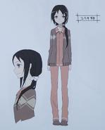 Second season animation art book Konno Aiko real life