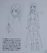 Abecs Artworks art book GGO Kirito concept