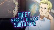Meet Gabriel Miller aka Subtilizer! - An Introduction Sword Art Online Wikia