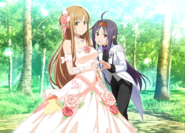 Asuna and Yuuki in June Bride Event 2019 IF