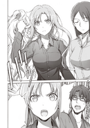 Asuna revealing herself to Seijirou - PA manga chapter 14
