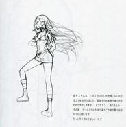 Musketeer X sketch Sao-no-Hanashi art book