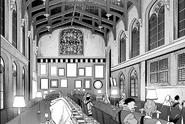 Yofel Castle dining room - Barcarolle manga c12