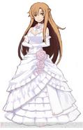 Asuna wedding dress