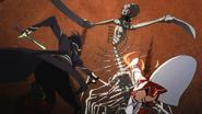 EP13 The Skull Reaper fighting