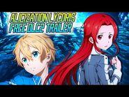 SAO- Alicization Lycoris Free DLC2, The Knight of Contradictions PV - SAO Wikia Translation