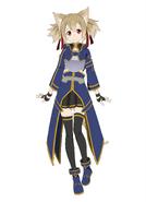 Silica Millennium Twilight character design