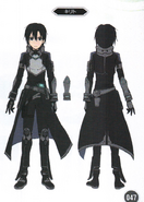 Kirito concept from Fatal Bullet Guide