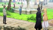 Yuna in Kirito's and Asuna's memories