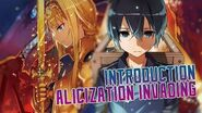 Introduction to Alicization Invading Sword Art Online Wikia Features