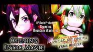 Sword Art Online Fatal Bullet - Opening Intro English Sub PS4 XB1 PC