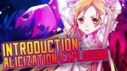 Introduction to Alicization Exploding Sword Art Online Wikia Features