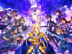 Alicization Blading Key Visual.png