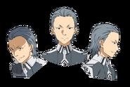 Humbert Zizek face pattern for Alicization anime