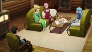 The girls talking about Zekken
