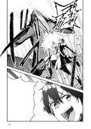 Kirito punching a bear - Barcarolle manga c5
