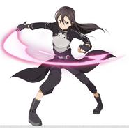 Kirito's GGO design for Code Register
