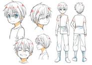 Child Kirito concept Dengeki Bunko Magazine vol 62