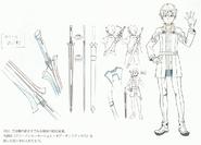 OS Production Book - Kirito's OS Avatar Design