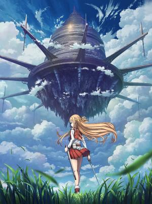 The key visual for the Progressive anime announcement.