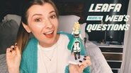 Leafa Answers the Web's Questions Sword Art Online Parody