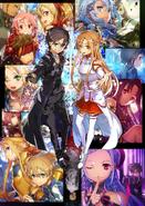 Sword Art Online -Ex-Chronicle- Key Visual
