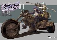 Phantom Bullet manga volume 3 inner cover