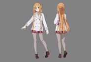 Asuna PB Character Design