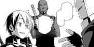 Agil introducing Kirito's Blackie nickname - Progressive manga c16