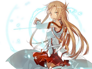 Dengeki Bunko FIGHTING CLIMAX IGNITION Special Pack Asuna Illustration