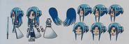 Asuna Progress Link Concept Art Gameverse 5th Anniversary Art Book