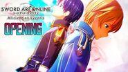 Sword Art Online Alicization Lycoris Opening - Scar Let by ReoNa