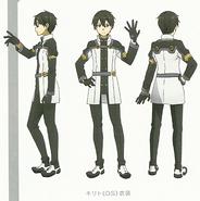 Kirito Character Design Art - SAO Secret Report