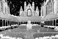 Yofel Castle courtyard - Barcarolle manga c11