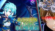 Sword Art Online Alicization Lycoris - Free & Paid DLC PV English Sub SAO Wikia Translation