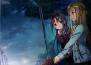 Abec Art Works Asuna & Yuuki