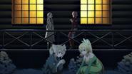 Lisbeth and Asuna talking about Zekken