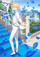 ABEMA x Shibuya Scramble Figure White Suit Eugeo figure visual