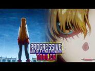 Sword Art Online Progressive- Aria of a Starless Night Movie Trailer -Eng Sub-
