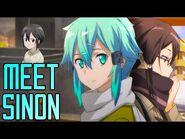 Meet Sinon! - Sword Art Online Wikia Features