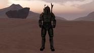 Soron Skirata on Tatooine