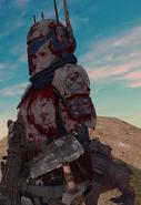 Min Bloodied on Hunt